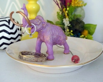Lilac Mammoth Jewelry Dish