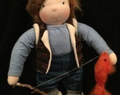 Deposit for limbed doll - Gone Fishing