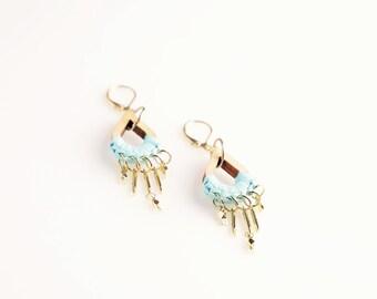 Woody Willow Teardrop Earrings