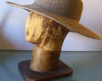 Made in Italy Floppy Brim Straw Hat