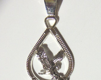 Sterling Silver Eagle Jewelry wtih Gemstones