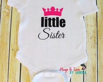 Little Sister Baby Bodysuit  - Any size