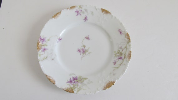 Purple passion porcelaine theo haviland limoges by revintagelannie - Estampille porcelaine limoges ...