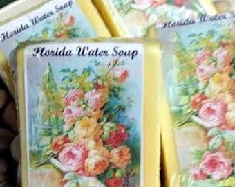 Florida Water Soap , Voodoo, Hoodoo, Spiritual, Ritual, Bath, Conjure,Wiccan