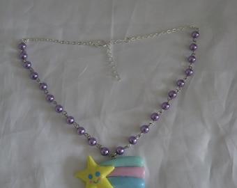 Kawaii Shooting star necklace