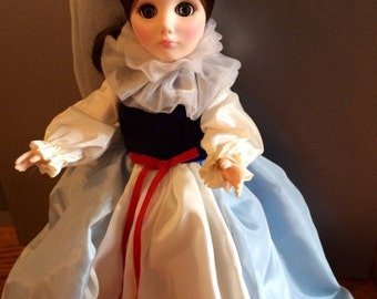 """Effanbee Vintage 11"""" Queen of Hearts Storybook Doll #1183 -1980'S - Mint Condition"""