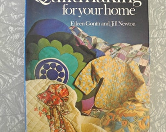 Quiltmaking for the home Vintage craft book 1974