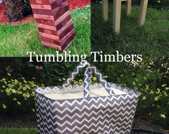 Tumbling Timbers COLOR Bundle Handmade PERFECT for your next party, camping trip or any event