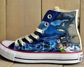 Custom Hand Painted Shoes- Totoro