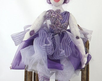 Letita the Cloth Doll Diva