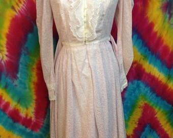 Vintage Women's Gunne Sax Dress By Jessica San Francisco Size 9
