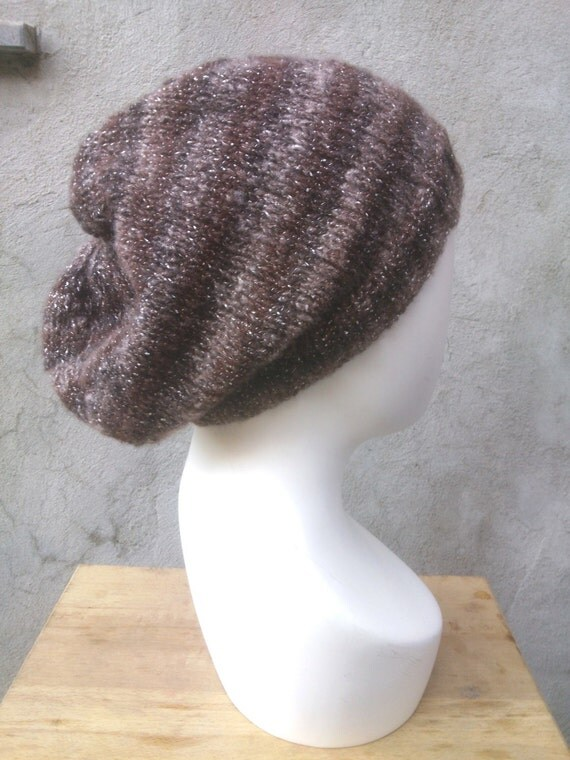 KNITTING PATTERN The perfect easy slouchy baggy beanie knit