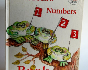 Vintage Children's Book, Nedobeck's Numbers Book