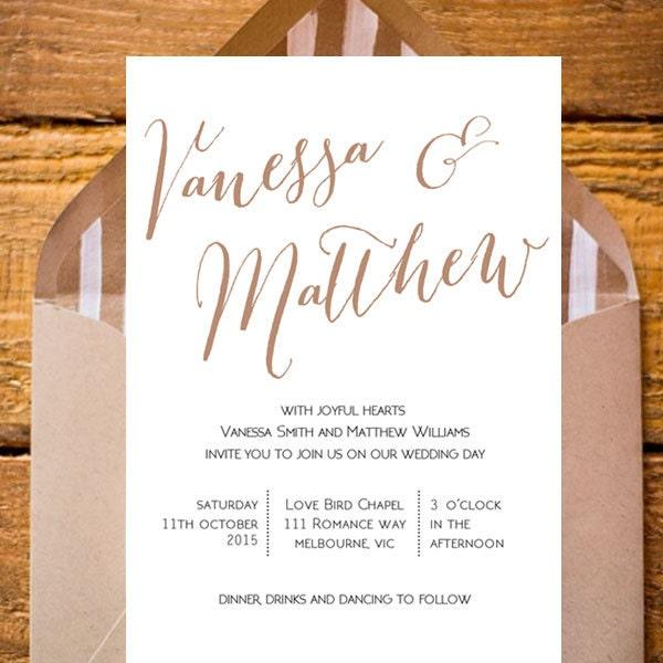 Wedding Invitation Wording Reception Later Date ~ Matik for