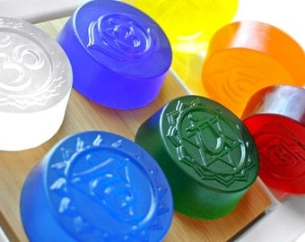 7 Chakra Soap Package
