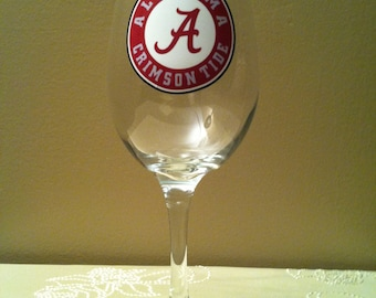 University of Alabama Glass
