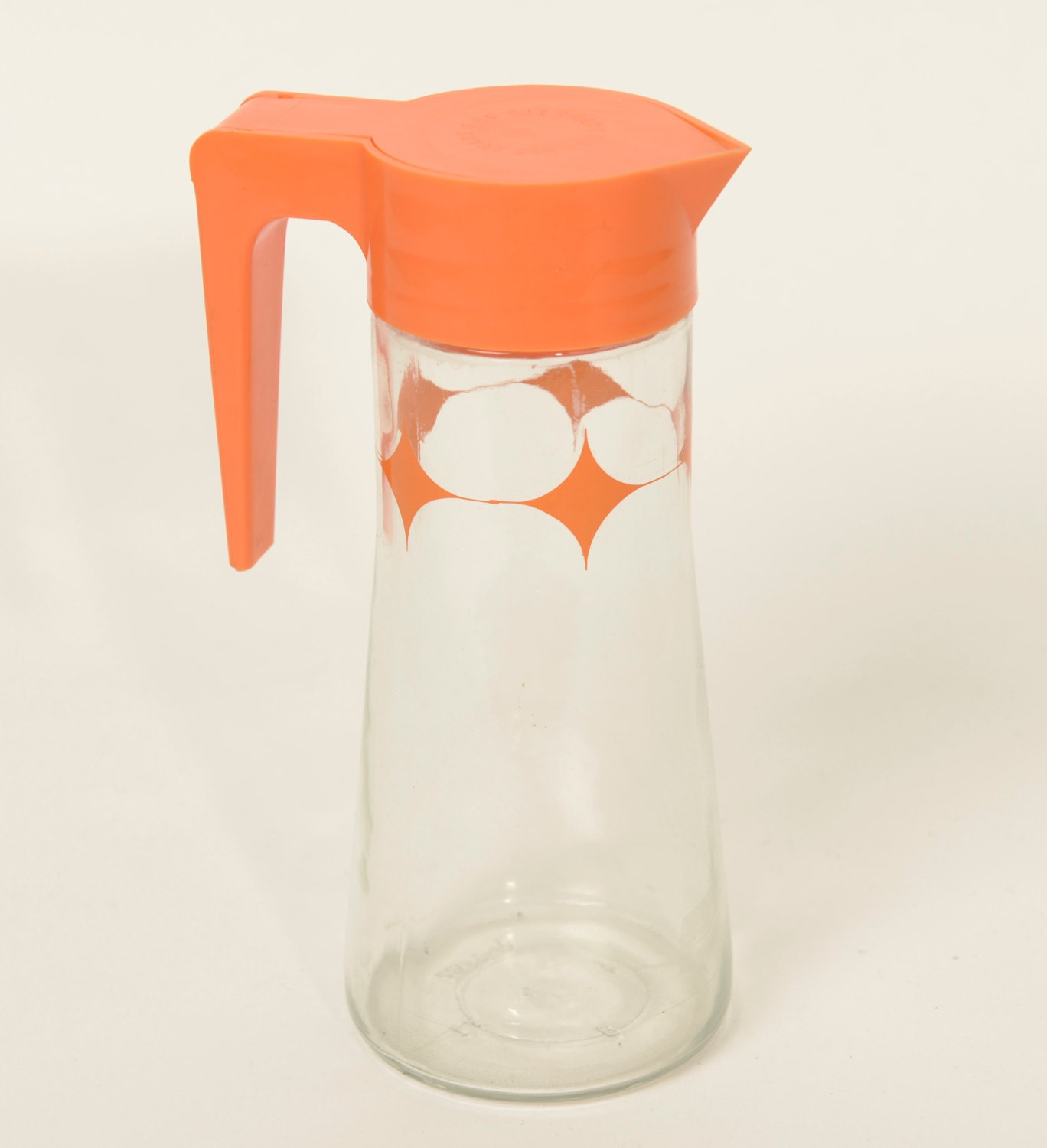 Orange Juice Pitcher By Anchor Hocking 60s Atomic Stars