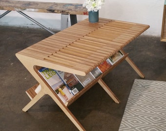 Mid Century Coffee Table (shown in Baltic Birch)