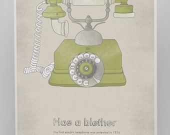 Telephone A3 Poster
