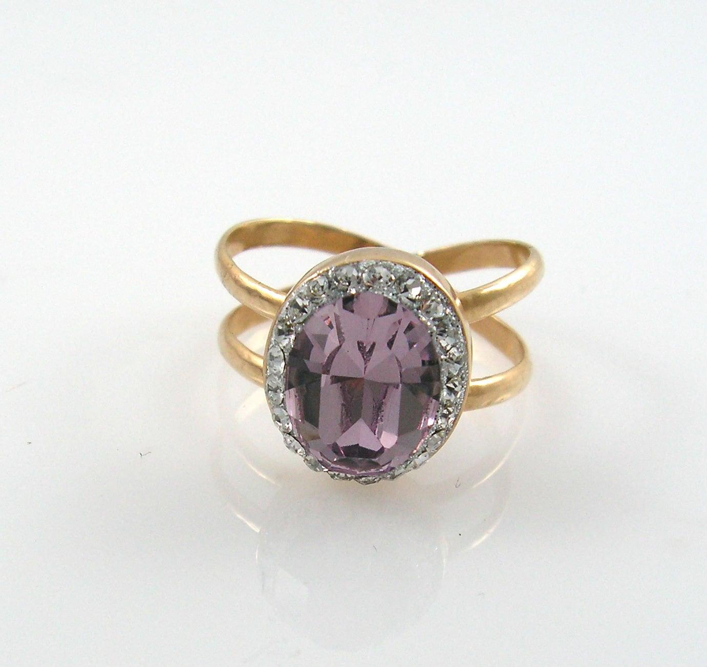purple gold ring x gold ring classic by atlanticsun