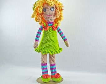 Crocheted Doll - Bailey
