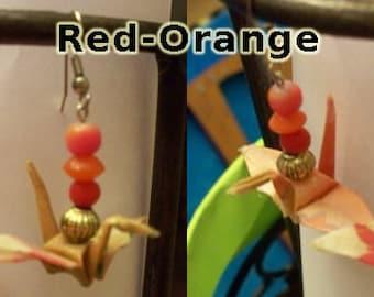 Peace Crane Earrings