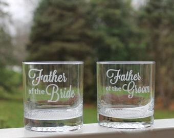 etched whiskey glasses, whiskey glasses set, wedding glasses, father of the bride, whiskey glasses, scotch glass, Whiskey gift
