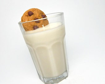 Chocolate Chip Cookie and Milk Scented Candle