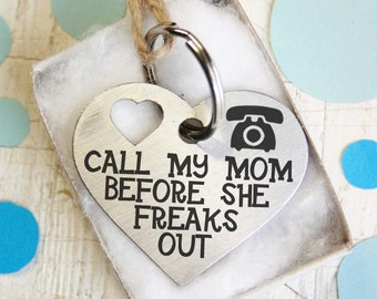 custom two-sides Heart Dog Tag -gift - Customized Pet ID Tag - Name Tags - Personalized Pet ID Tags - keep calm call my mom i will lick you