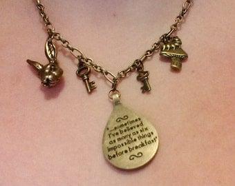 Alice In Wonderland-bronze color