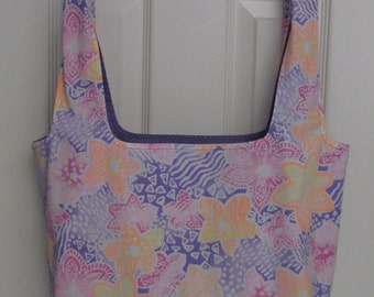 Reusable Cloth Market Bag and / or Versatile Tote