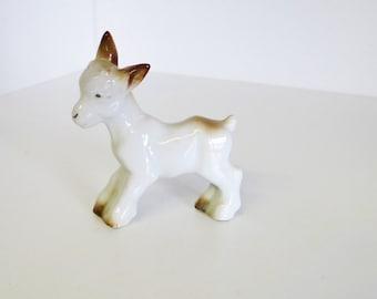 Vintage Lamb Figurine Porcelain Lamb Circa 1950s