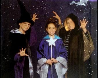 Simplicity 4866  Girls & Boys Wizard Costume   Size (7-14)  UNCUT
