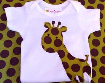 SALE-Giraffe Onesie
