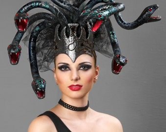 "Couture headpiece ""Medusa"""