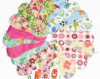 Cloth Panty liner, Set of 20  pcs Reusable/ washable cloth panty liner pads