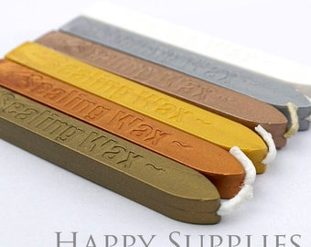 2pcs / 2 Colors Wick Sealing Wax Stick for Wax Seal Stamp (SW-A)