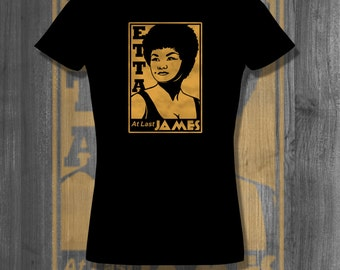 Etta James T shirt Black History Black History Month African Clothing Black Pride Afro T shirt gifts for her Jazz music Father's Day gifts