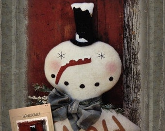 Pattern: Drifting Along Snowman by Homebodies