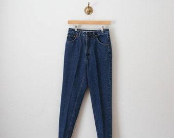 vintage 80s true blue highwaisted denim jeans