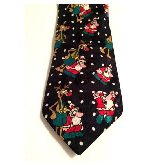 tie st michael from marks spencer santa tie