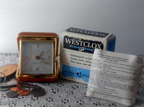westclox alarm clock instructions