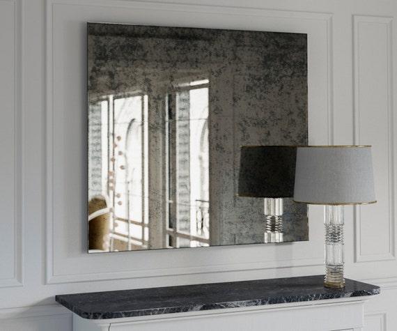Miroir ancien Grand miroir Miroir mural décoratif fait avec