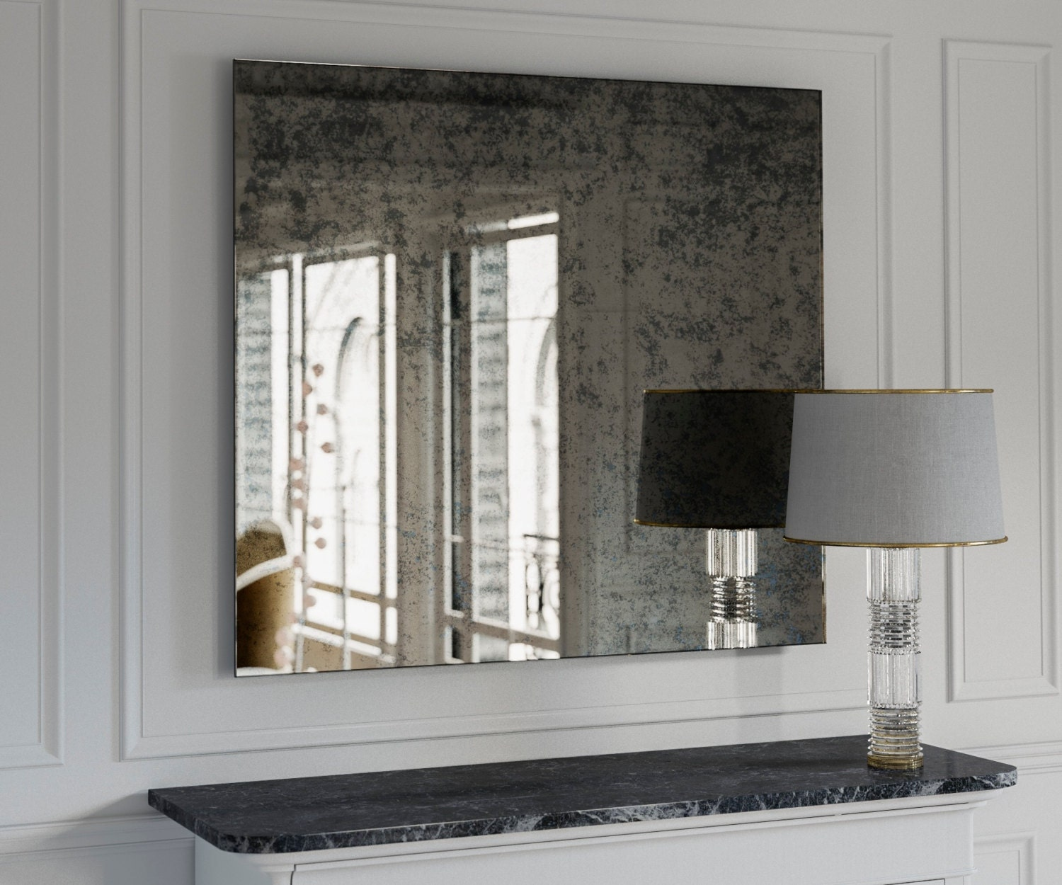 The Coveteur Antique Mirror Walls: Antique Mirror. Large Wall Mirror. Decorative Wall Mirror Made