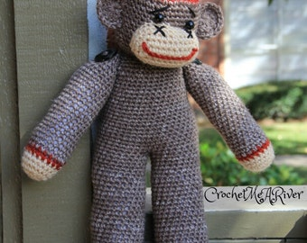 Oscar The Sock Monkey. (this is a finished product)