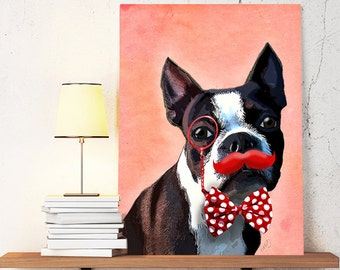 "Shop ""boston terrier gifts"" in Prints"