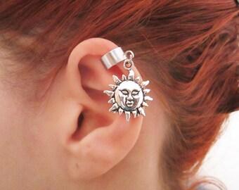 Sun ear cuff wrap
