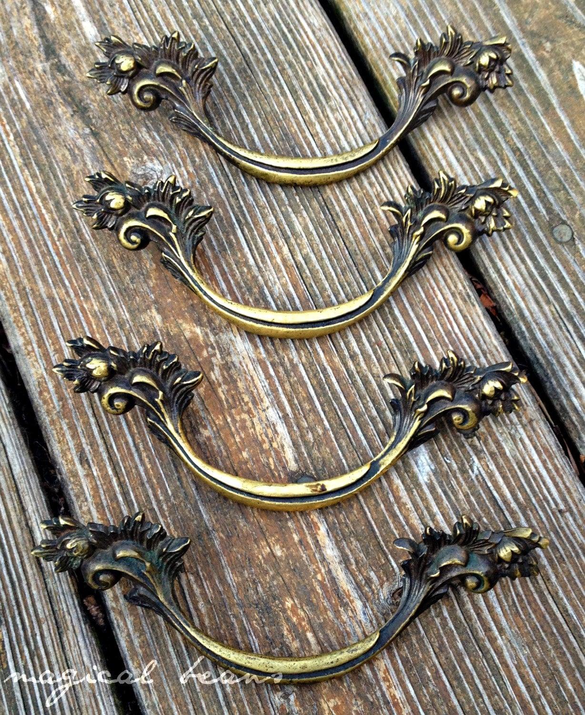 French Provincial Kitchen Door Handles: French Provincial Furniture Pulls Victorian Dresser Pulls