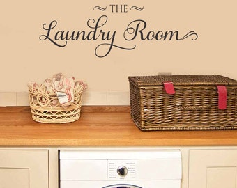 Laundry Room Decal