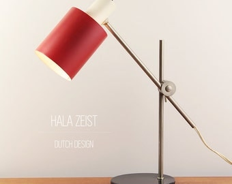 Mid century Hala table lamp - Industrial design - Made in The Netherlands - ca. 1960s